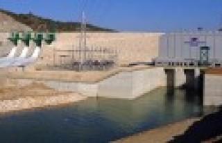 Tepekışla Barajı ve HES Üretime Alındı