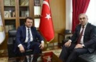 TOKİ Başkanı Turan'dan Başkan Erkoç'a Ziyaret
