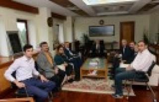 Türkiye Kamu-Sen'den Rektör Can'a Destek Ziyareti