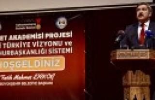 Yayman'dan Cumhurbaşkanlığı Sistemi Konferansı