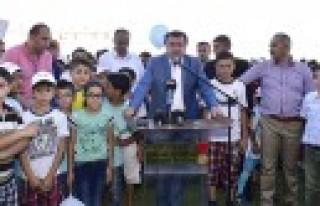 Yaz Spor Okulu'nun Onüncüsü Açıldı