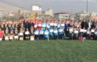 Yıldız Kızlar Futbol İl Birinciliği Turnuvası...