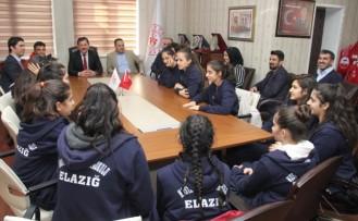 Kabakcı, Elazığlı Basketbol Takımını Misafir Etti