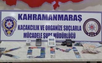 Kahramanmaraş'ta Tefecilik ve Sahte İçki Operasyonu