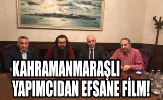 Kahramanmaraşlı Yapımcıdan Efsane Film!