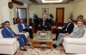 Milletvekilleri Özdemir Ve Sezal, Rektör Can'ı Ziyaret Etti