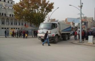 Afşin'de Hafriyat Kamyonu 1 Can Aldı