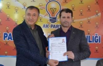 Faruk Kazlı Pazarcık Belediye Başkan Aday Adayı Oldu