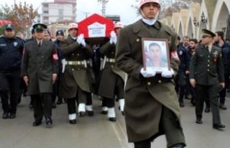 Kanser Hastası Asker Son Yolculuğuna Uğurlandı