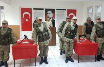 Andırın'da 7 Güvenlik Korucusu Göreve Başladı