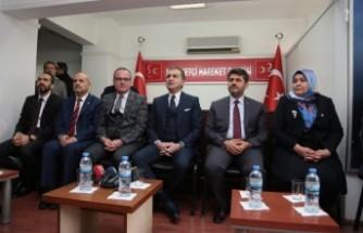 AK Parti Sözcüsü Çelik, MHP'yi Ziyaret Etti