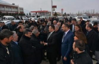 Elbistan'da Gürbüz'e Coşkulu Karşılama