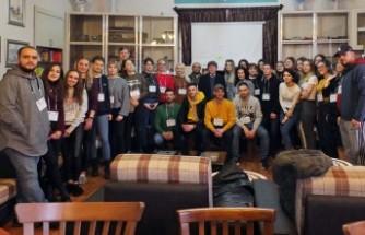 Tebessüm Derneği Avrupalı Gençleri Şehrimizde Ağırladı