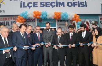 Bakan Varank, AK Parti Onikişubat Seçim Ofisinin Açılışını Yaptı