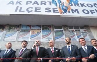 Cumhur İttifakı Türkoğlu Seçim Ofisi Açıldı