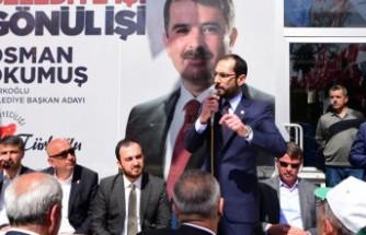 Sezal: Başkan Okumuş Bu Beş Yılda da Türkoğlu'na Layık Hizmeti Yapacak