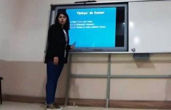 Kanser Konulu Bilgilendirme Toplantısı Yapıldı