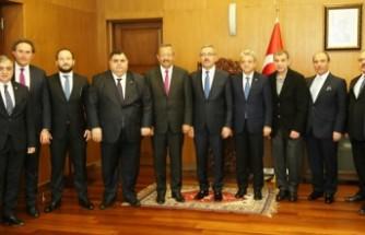 KMTSO'dan Belediye Başkanlarına 'Hayırlı Olsun' Ziyareti
