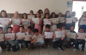 Cahit Zarifoğlu 4B Sınıfında Mezuniyet Heyecanı Yaşandı