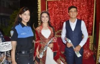 Polise Düğününde Meslektaşlarından Sürpriz