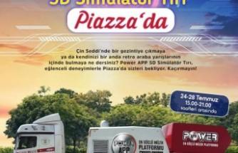 5D Simülatör Tırı Kahramanmaraş Piazza'da