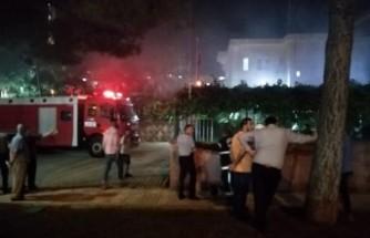 Doğukent Muhtarlık Binasında Yangın