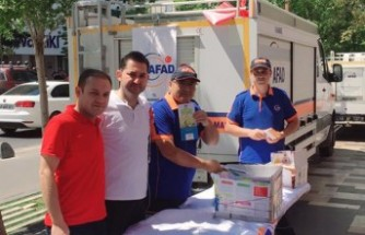 Kahramanmaraş'ta AFAD'dan Afetlere Hazırlık Konulu Stant