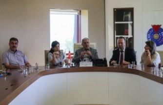 KSÜ Rektörü Can, 34 Ülkenin Kültür Elçilerini Ağırladı