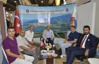 İzmir Enternasyonal Fuarında KSÜ Standı Büyük İlgi Gördü