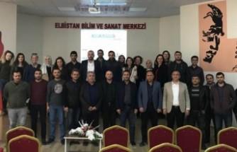 Elbistan'da Erasmus + Proje Eğitimi Verdi