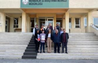 İl Milli Eğitim Müdürlüğü'nün Erasmus+ Proje Toplantısı
