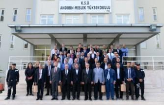 KSÜ Senatosu ve Yönetim Kurulu Haftalık Olağan Toplantısı