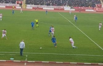 Kahramanmaraşspor: 1 - Bodrum Belediyesi Bodrumspor: 2