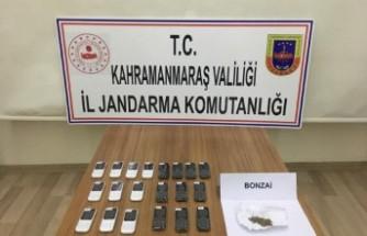 Kahramanmaraş'ta Kaçakçılık Ve Uyuşturucu Operasyonu
