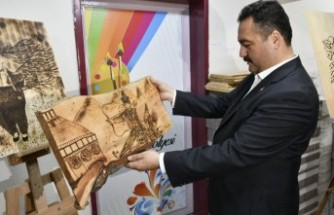 Sim Sırma Nakışçılığı Elbistan'da Yeniden Hayat Buluyor