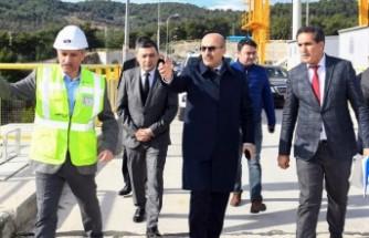 Adana Valisi Demirtaş, Sanibey Barajı Ve HES'te