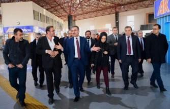 Başkan Güngör'den Kahramanmaraş Terminaline Ziyaret