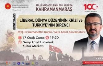 Liberal Dünya Düzeninin Krizi Ve Türkiye'nin Direnci Konferansı