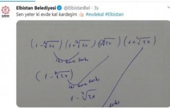 Elbistanlı Genç, Çözemediği Soruyu Tweet Attı, Belediye Cevapladı
