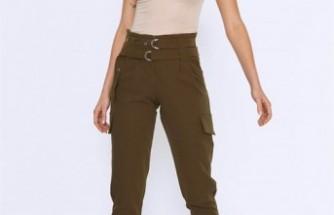 Kadınlar için Kargo Pantolonu