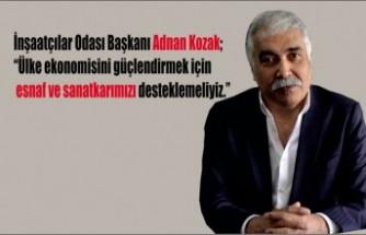 Başkan Kozak, Esnafa Faizsiz Kredi Desteği Verilmesi Çağrısında Bulundu