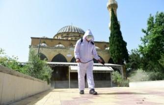 Dulkadiroğlu'nda Camiler İbadete Hazırlanıyor