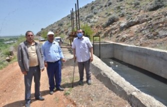 Elbistan'da Çiftçilerin 8 Yıllık Su Hasreti Sona Erdi