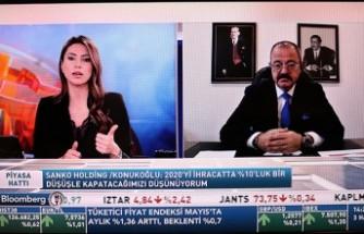 Adil Sani Konukoğlu Bloomberght TV Piyasa Hattı Programının Konuğu Oldu