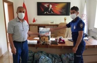 Afşin Belediyesi LGS'ye Girecek Öğrenciler İçin Maske Üretti