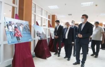 """Onikişubat Belediyesi, AA İle Birlikte """"15 Temmuz"""" Sergisi Açtı"""