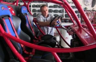 Oto Elektronik Ustası, Yarışlara Katılabilmek İçin Kendi Off-Road Aracını Yaptı
