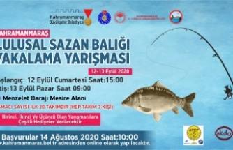 1. Ulusal Sazan Balığı Yakalama Yarışması