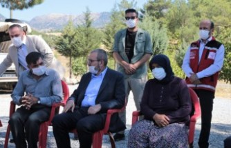 AK Parti Genel Başkan Yardımcısı Ünal'dan Şehit Ailesine Ziyaret
