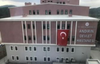 Andırın Devlet Hastanesinin Yeni Hizmet Binası Açıldı